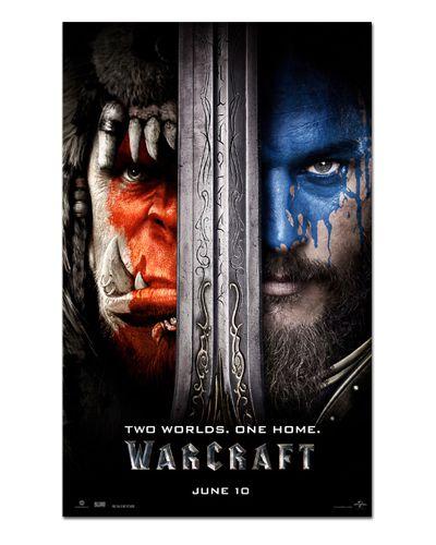 Ímã Decorativo Pôster Warcraft - IPF184