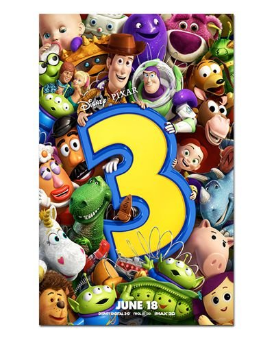 Ímã Decorativo Pôster Toy Story 3 - IPF188