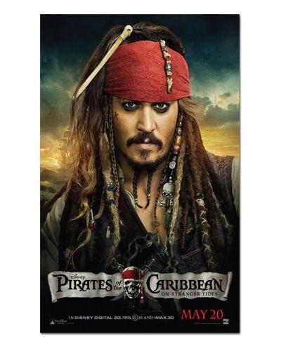 Ímã Decorativo Pôster Piratas do Caribe 4 - IPF241