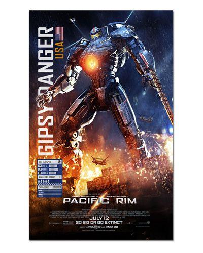 Ímã Decorativo Pôster Pacific Rim - IPF244