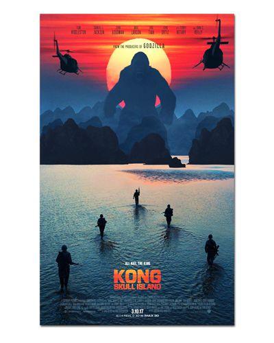 Ímã Decorativo Pôster Kong Skull Island - IPF277