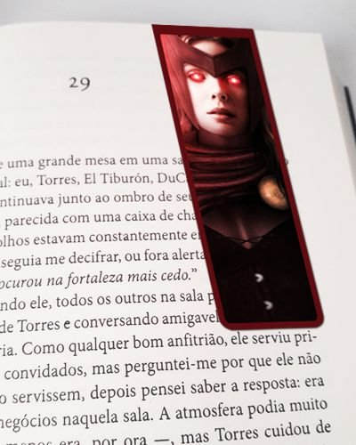 Marcador De Página Magnético Scarlet Witch - X-Men - MMA247