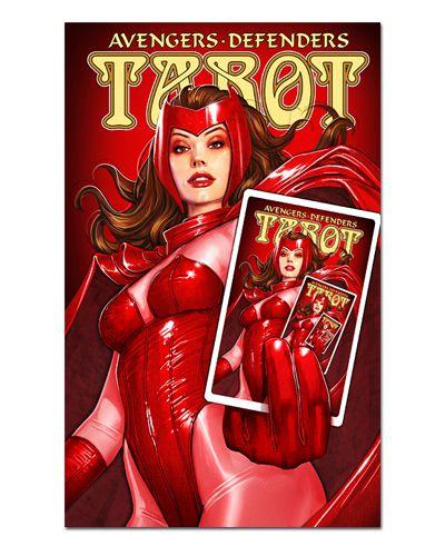 Ímã Decorativo Scarlet Witch - X-Men - IQM85
