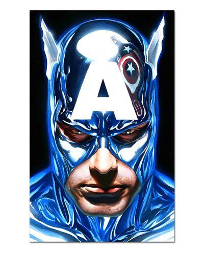 Ímã Decorativo Capitão América - Marvel Comics - IQM92