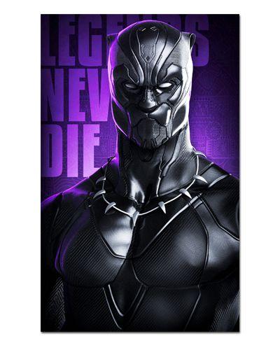 Ímã Decorativo Pantera Negra - Marvel Comics - IQM109
