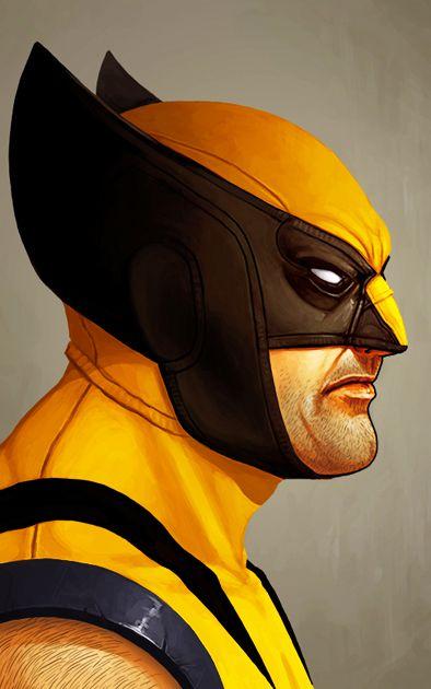 Ímã Decorativo Wolverine - X-Men - IQM116