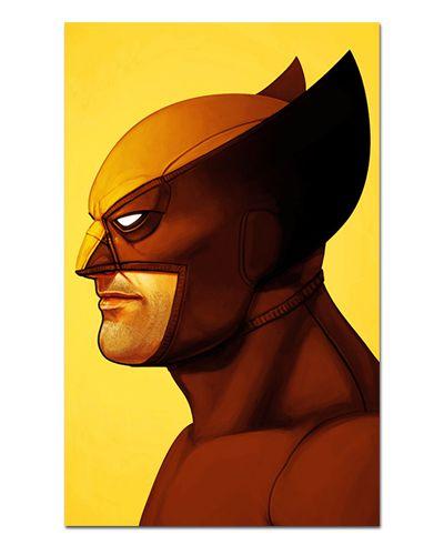 Ímã Decorativo Wolverine - X-Men - IQM117