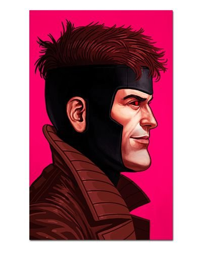 Ímã Decorativo Gambit - X-Men - IQM125