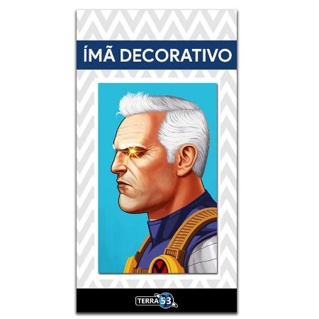 Ímã Decorativo Cable - X-Men - IQM135