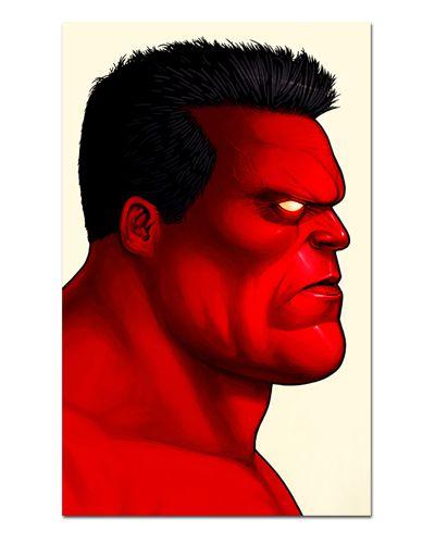 Ímã Decorativo Red Hulk - Marvel Comics - IQM144