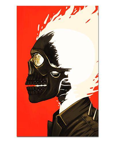Ímã Decorativo Ghost Rider - Marvel Comics - IQM151