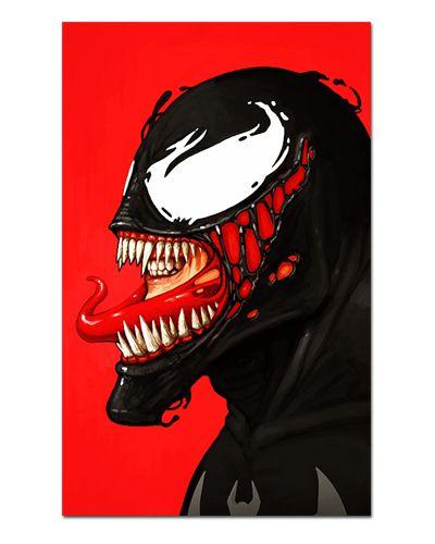Ímã Decorativo Venom - Marvel Comics - IQM154