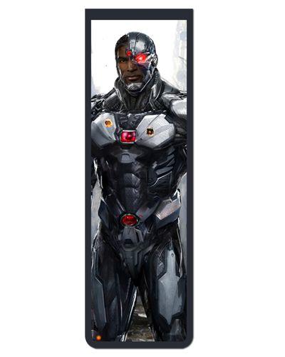 Marcador De Página Magnético Cyborg - DC Comics - MDC338