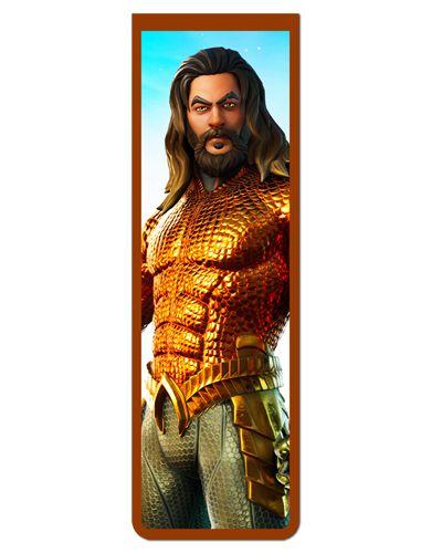 Marcador De Página Magnético Aquaman - MDC347