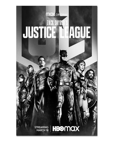 Ímã Decorativo Pôster Justice League Synder Cut - IPF687