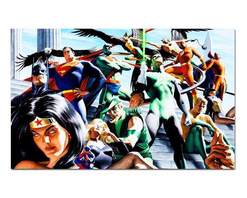 Ímã Decorativo Liga da Justiça - DC Comics - IQD113