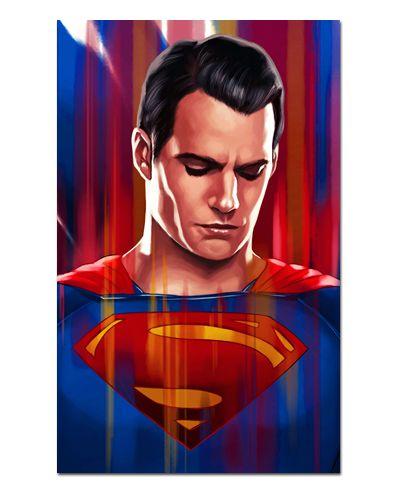 Ímã Decorativo Superman - DC Comics - IQD120