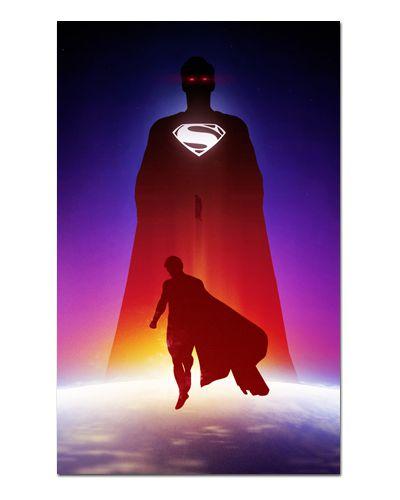 Ímã Decorativo Superman - DC Comics - IQD122