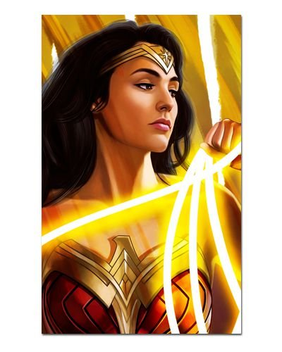 Ímã Decorativo Wonder Woman - DC Comics - IQD124