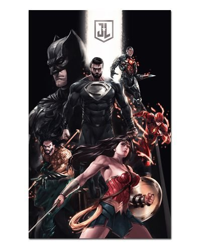 Ímã Decorativo Liga da Justiça - DC Comics - IQD129
