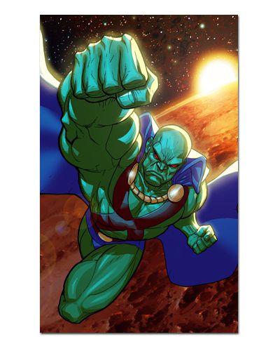 Ímã Decorativo Caçador de Marte - DC Comics - IQD130