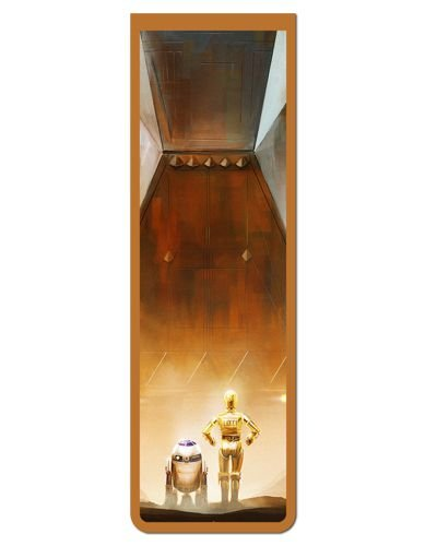 Marcador De Página Magnético R2-D2 e C-3PO - Star Wars - MFI322