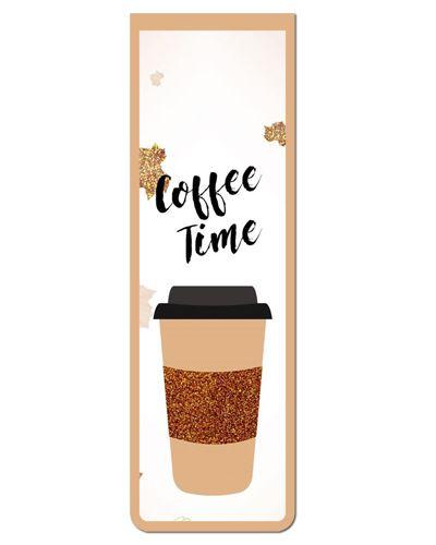 Marcador De Página Magnético Café - Gourmet - MFE114
