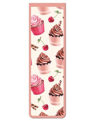 Marcador De Página Magnético Cupcake - Gourmet - MFE126