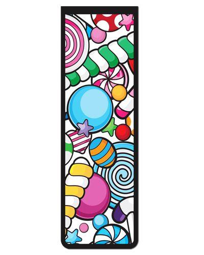 Marcador De Página Magnético Lollipop - Gourmet - MFE129