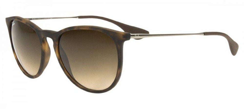 Óculos de Sol Ray Ban Erika RB4171 Efeito Onça - New Store - A ... dcf5015f53