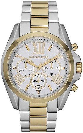 Relógio Michael Kors Mk5627 Misto Prata Dourado - New Store - A ... 5f74318ce6