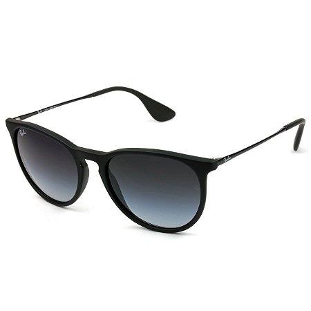 08942eed6bab1 Óculos de Sol Ray Ban Erika RB4171 Preto Fosco - New Store - A ...