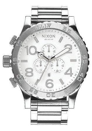 Relógio Nixon Chrono 51-30 Prata - New Store - A melhor loja de ... 1b919c74a3