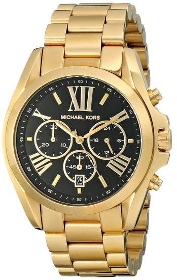 Relógio Michael Kors Mk57939 Dourado Fundo Preto - New Store - A ... 9c8f55b0d3