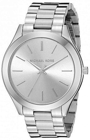 Relógio Michael Kors Slim Runway MK3178 Prata - New Store - A melhor ... 3283cb5e67