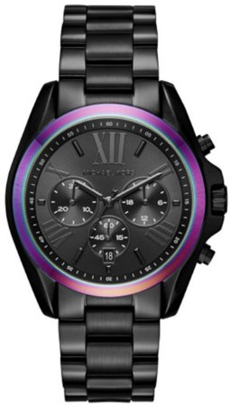 88bdc2bd17f1c Relógio Michael Kors Mk6444 Preto Dial Multicolor - New Store - A ...