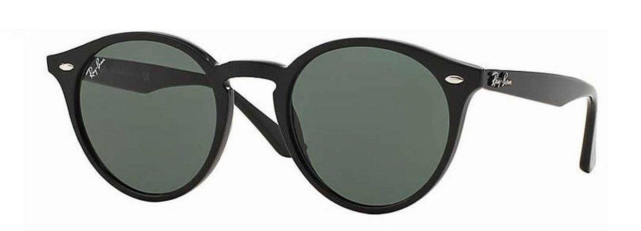 Óculos de Sol Ray Ban Highstreet Rb2180 Preto Fosco Lente Preta ... 7d0db8c579