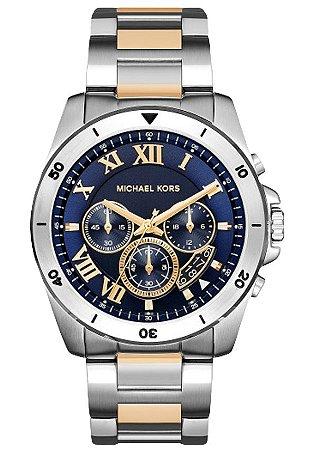 Relógio Michael Kors Masculino Brecken Mk8437 - New Store - A melhor ... abdee7021b
