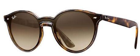 1258f0b7d7277 Óculos De Sol Ray Ban Highstreet Rb2180 Tartaruga Lente Marrom Degrade