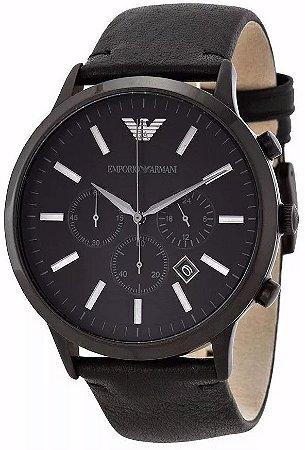 6394fa3ed6191 Relógio Emporio Armani Sportivo Ar2461 Couro - New Store - A melhor ...