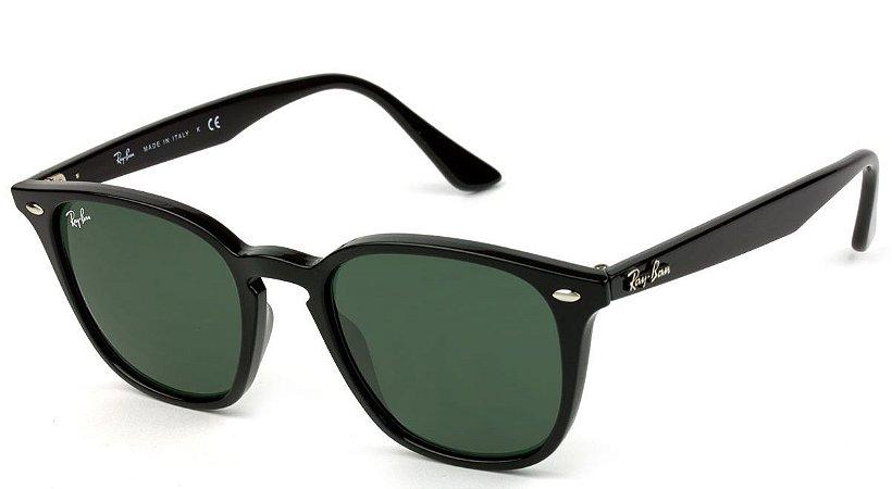 Óculos de Sol Ray-Ban RB4258 Preto Brilho Lente Preta - New Store ... d7abbd6956