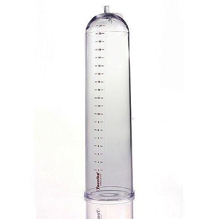 Cilindro para Bomba Peniana em Acrílico - Transparente