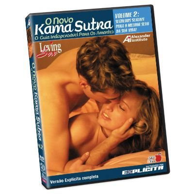 DVD - O Novo Kama Sutra - LOVING SEX