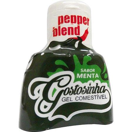 Gostosinha Gel Comestível Menta 25gr Pepper Blend