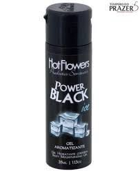 Power Black Ice Gel - Sexo Oral - 35ml Hot Flowers