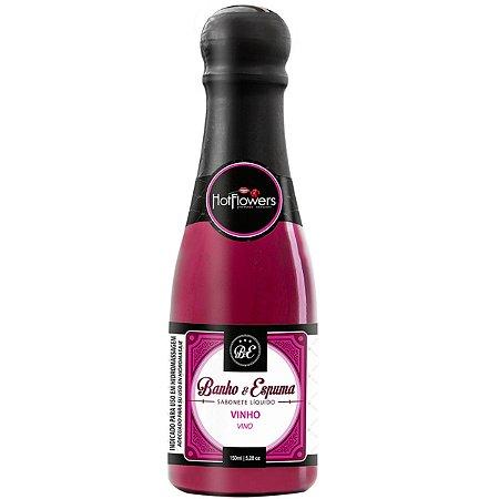 Sabonete Líquido Banho & Espuma Vinho 150ml Hot Flowers