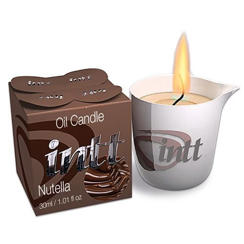 Vela para Massagem Beijável Nutella 30g Intt