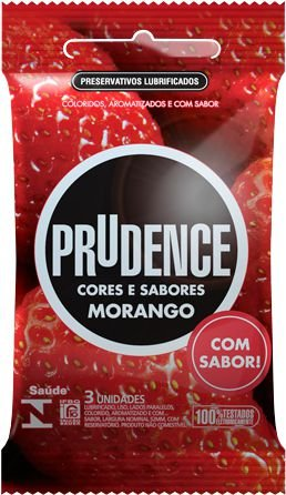 Prudence Bolso Morango - 3 Unidades