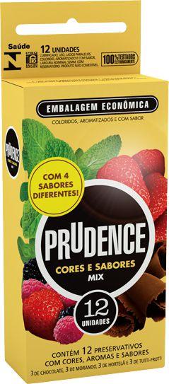 Prudence MIX de Sabores - 12 Unidades