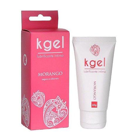 KGEL Lubrificante Íntimo 60g - Morango